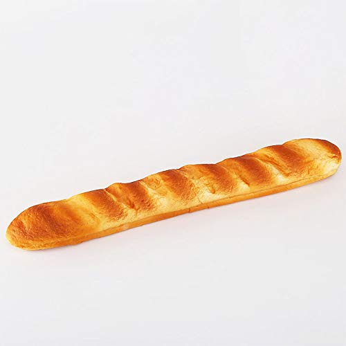 Accents Baguette (Nice purchase Artificial Bread Fake Simulation Realistic Food Cake French Bread Loaf Baguette Dessert for Decoration Display Props Real Model (A))