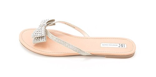 INC International Concepts Womens Malissa Open Toe Casual, Champagne, Size 6.0 from INC International Concepts