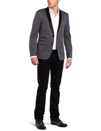 Ben Sherman Men's Plectrum Tuxedo Blazer, Atmosphere Gary, X-Small