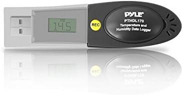 NEW Pyle PTHDL170 Barometric Digital Pressure  Temperature /& Humidity USB Logger