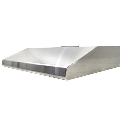 Trading Oven Corp (KOBE CHX2030SQB-1 Brillia 30-inch Under Cabinet Range Hood, 3-Speed, 680 CFM, LED Lights, Baffle Filters)