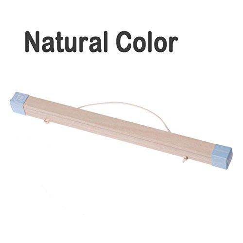 lieomo Magnetic Oak Wood Poster Frame Hanger - Artwork Print Holder Canvas Quilt Wooden Hanging(Natural color)
