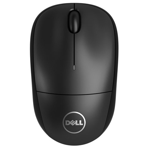 Dell WM123 Wireless Optical Mouse (PXK14) - Black Rf Wireless Optical Mouse