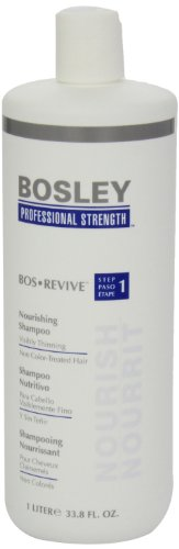 Bosley Bos Revive Nourishing Shampoo for Visibly Thinning Non Color-Treated Hair, 33.8 Ounce by Bosley Professional Strength (Image #3)