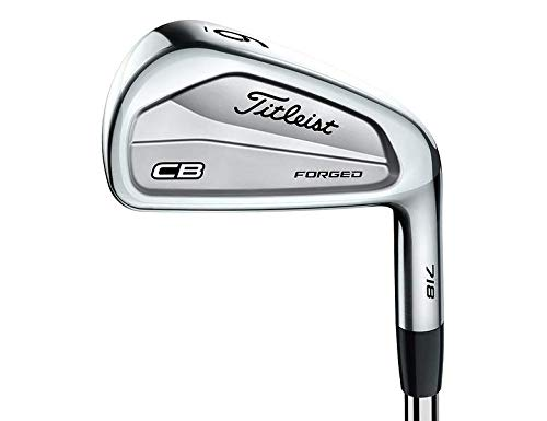 Titleist 718 CB Single Iron 6 Iron Stock Steel Shaft Steel Stiff Right Handed 37.75 in