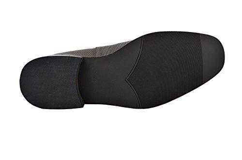 Le Scarpe Zerimar Per Uomo Aumentano Di 7 Cm | Scarpe Da Uomo Con Aumenti | Scarpe Che Aumentano La Loro Altezza | Dimensioni Della Pelle Di Colore 39