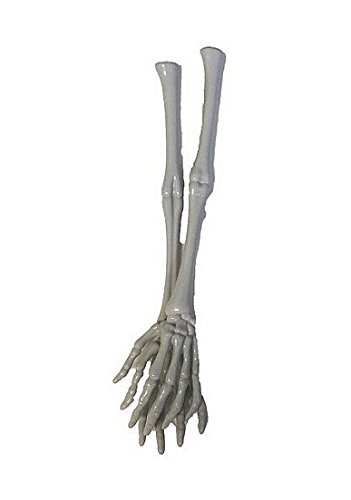 Pair of Halloween Skeleton Hand and Arm Tongs Servers (Skeletons Halloween)