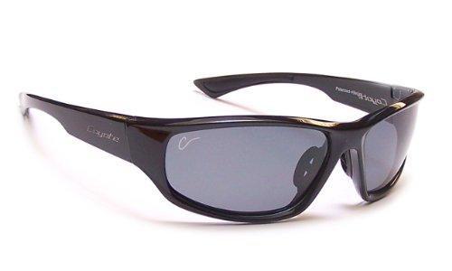 Coyote Eyewear Polar Lite Baja Polarized Sport Sunglasses, Black, - Sunglasses Mesa