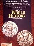 World History, Holt, Rinehart and Winston Staff, 0030657369