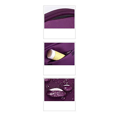 Viaje Hombres Mujeres Shan Para De Caja Equipaje Maleta Color Pulgadas Púrpura 20 Y 88xYE