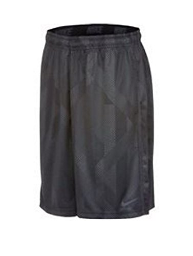 Nike Boys Dri-Fit Fly Knurling Training Shorts Dark Grey Small