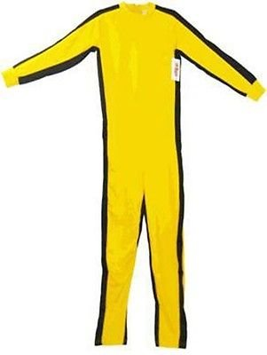 Game of Death Kill Bill Bruce Lee Jumpsuit Costume (Small) (Kill Bill Costumes Halloween)