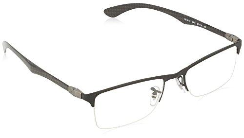 Ray-Ban Men's RX8413 Eyeglasses Matte Black - Glasses Ban Prescription Ray Frames