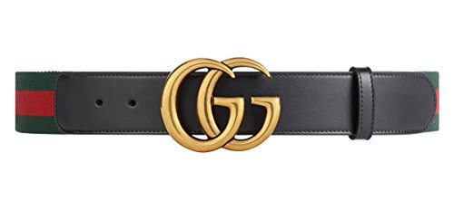 Gucci   Belt For Men Double G  409416He21t8476    Multicoloured  100