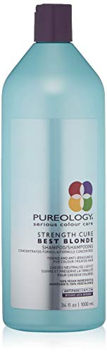 - Pureology Strength Cure Best Blonde Purple Shampoo, 33.8 Fl Oz