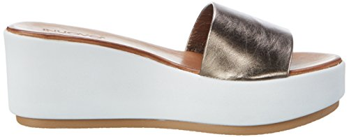 Chaussures Pewter Inuovo Compensées 7112 Femme Argent 05qwXTqB