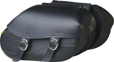 Universal Saddlebag Max Mount Hard (Willie & Max by Dowco 03436 Revolution Series: Large Synthetic Leather Swooped Motorcycle Saddlebag Set, Black, 30 Liter Capacity)