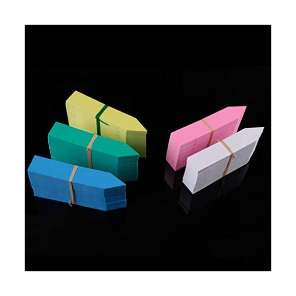 Moliies Riutilizzabili Etichette di Semi di Fiori in plastica Impermeabile per Piante Marcatori Etichette da Giardino… 3 spesavip