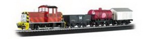 Bachmann Trains Thomas And Friends - Salty's Dockside Delivery Ready To Run Ho Scale Electric Train Set (Dockside Electrical)