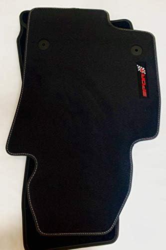Accesorionline Alfombrillas a Medida para A3 Desde 2012 8V Velour Premium alfombras de m/áxima Calidad