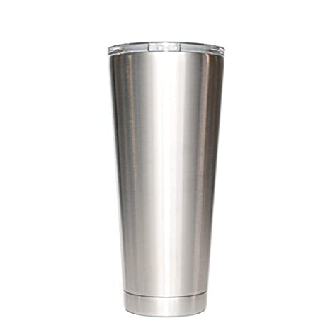 887f6fdb5a8 Amazon.com: 16 oz - Stainless Steel Lowball - Vacuum Insulated Cup With  Lid: Kitchen & Dining