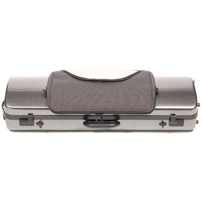 BAM Hightech 2011XL Violin Case w/ Tweed Exterior & Music Pocket plus