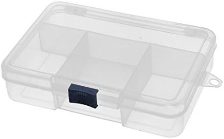 sourcingmap Caja de Almacenamiento Caja Transparente de 5 ...