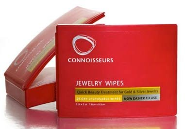 Connoisseurs Jewelry Wipes - W