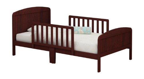 RUSSELL CHILDREN Products Harrisburg Wood Toddler Bed, Rich Cherry