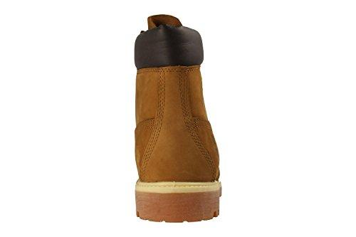 6in Rouillée Boot Timberland Orange Homme Boots Premium SzvxwUq