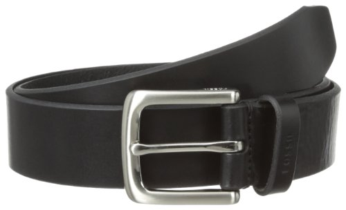 Fossil Leather Genuine Belt (Fossil Men's Joe Belt, Black,)