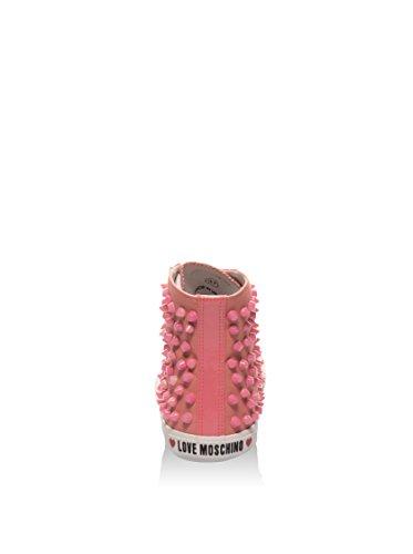 Love Moschino Zapatillas abotinadas D.Lav.04/20 Rosa EU 40