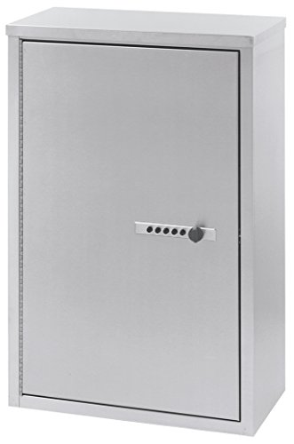 ACS - Narcotic Locking Cabinet 16''W x 8''D x 24''H Stainless Steel 181680 by ACS