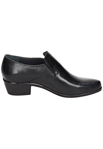 Comfortabele Heren-slipper Zwart 630657-1 Zwart
