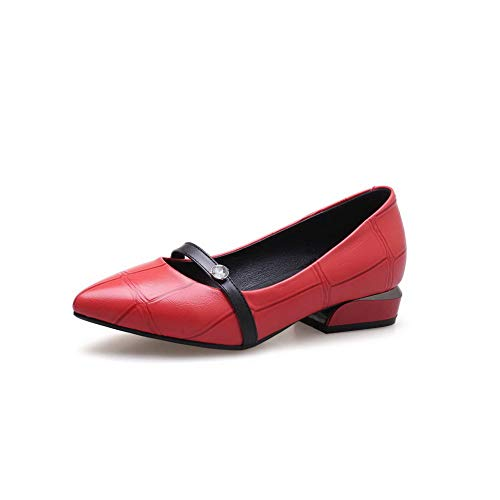 DGU00739 Red Femme 5 36 Sandales AN Compensées Rouge 4wxUddaB