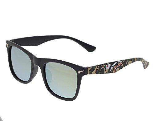 Vast UV Protection Mirror Unisex Wayfarer Sunglasses (STARGOLD 52 Mirror Lens )…
