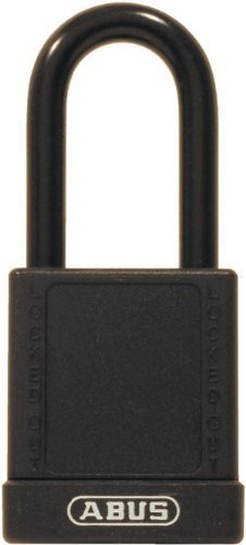 ABUS 74/40 KD Safety Lockout Non-Conductive Keyed Different Padlock with 1-1/2-Inch Shackle, Black by ABUS