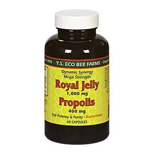 YS Royal Jelly/Honey Bee – Royal Jelly Propolis Mega Strentgh, 60 capsules Review