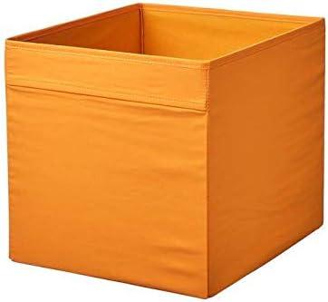 IKEA Drona - Caja (33 x 38 x 33 cm), color naranja: Amazon.es: Hogar