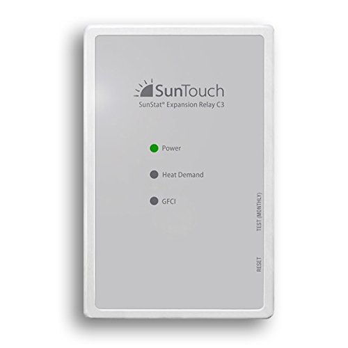 SunStat Relay C3 | SunTouch Floor Heating Relay (for mat or cable systems requiring more than 15 Amps) by SunStat