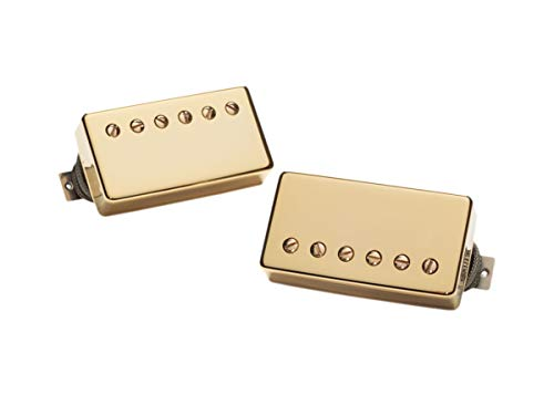 (Seymour Duncan APH-2S Alnico II Pro Slash Signature Humbucker Pickup Set - Gold Cover)