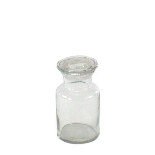 Pharmacy Jar - HomArt Pharmacy Jar with Stopper - Extra Sm (Clear)