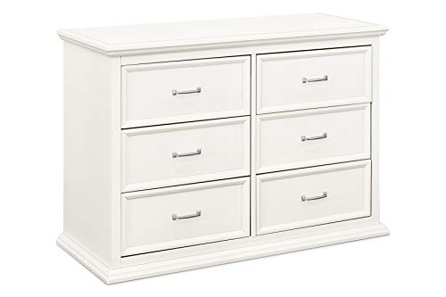 Million Dollar Baby Classic Foothill-Louis 6-Drawer Dresser, Warm White