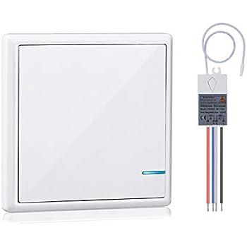 Basic Wireless Light Switch Kit - Wall Light Switches