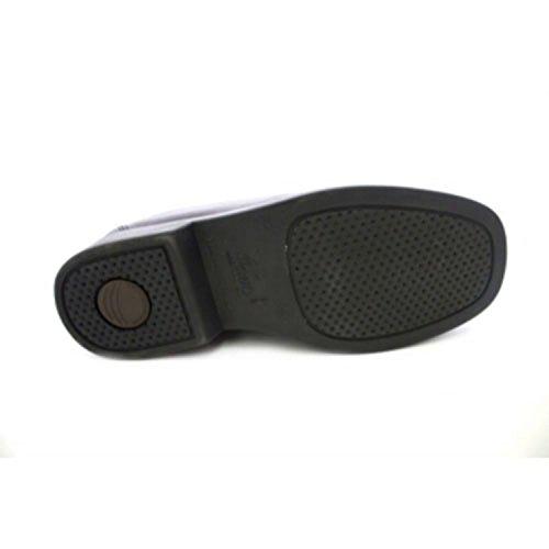 Made In Spain Waiter Schuh ohne Schnürsenkel Danka Schwarz Schwarz
