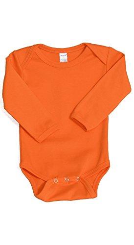 MONAG Unisex Baby Bodysuits 6-12M Orange