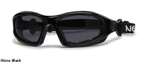 Rec Specs Motorcycle Goggles- Torque 2 - Shiny Black