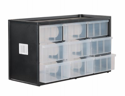 Stanley Consumer Tools STST40709 Bin System, Stackable, 9-Drawer - Quantity 1 by STANLEY CONSUMER TOOLS