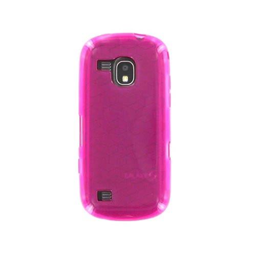 (Silicone Cover for Samsung Continuum SCH-i400, High Gloss Pink)