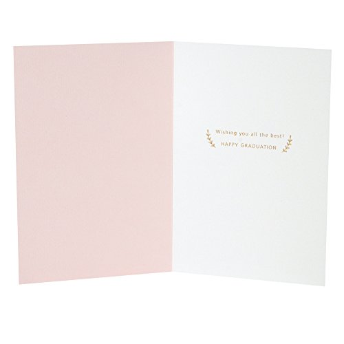 Hallmark Signature Graduation Greeting Card for Female (Pink Gold Class of 2018) Photo #2
